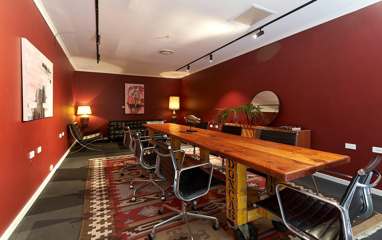 Revolver Lane Board Room